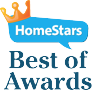 absolute home services homestars footer logo