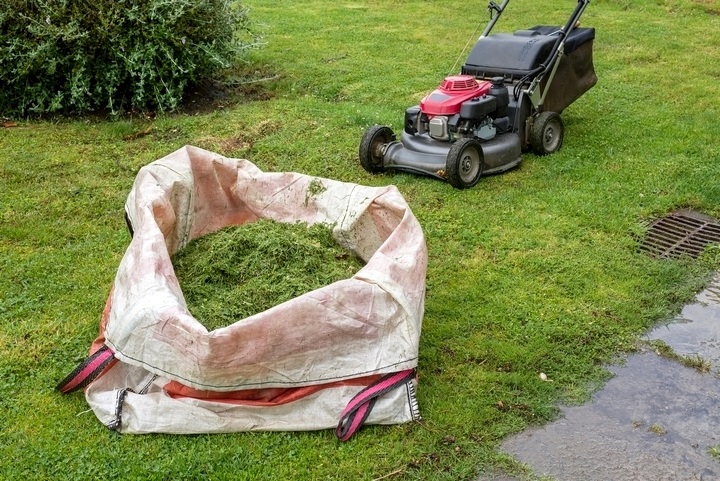 Bagging your grass