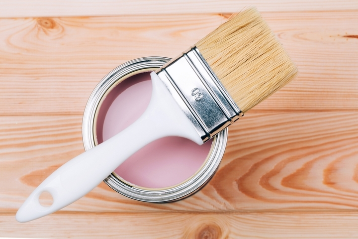 Paint brushes should be included in your house painting supplies list.
