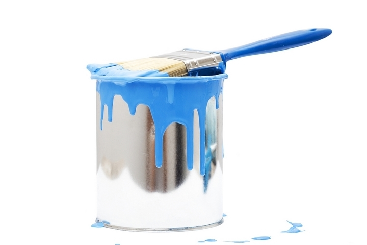 Paint buckets and cans should be included in your house painting supplies list.